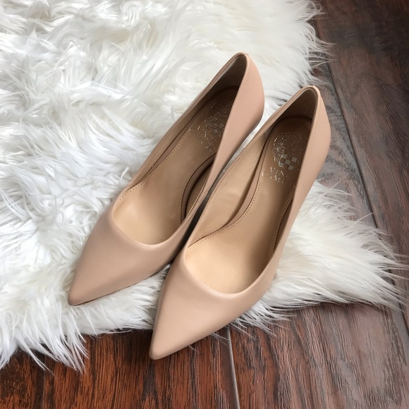 Vince Camuto Nude Retsie Pointed Pumps